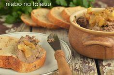 niebo na talerzu: Pasta do pieczywa po żydowsku
