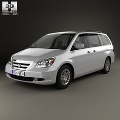 3D Model Of Honda Odyssey 2005 - 3D Model