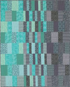 Morning Noon and Night - simple quilt pattern by Terry Atkinson