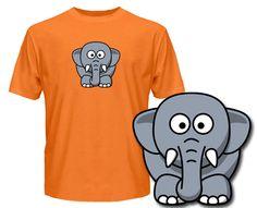 Elephant T Shirts - Wuggle.co.uk - £9.99