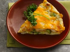 Healthified Impossibly Easy Chicken 'n Broccoli Pie - 1 pp