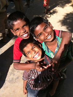 Its all smiles in India! #homeofhopeIndia