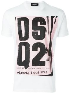 Jack vintage t-shirt. DSQUARED2 Dsquared2 Tshirt. #dsquared2 #cloth #topwear