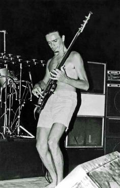 """What a beautiful photo... thumbs and all... of Jaco Pastorius with WR at """"Jazz à Juan"""" à la Côte d'Azur, July 1976. John Beake shares this pic taken by Jean-Pierre Serre. Merci John!"""