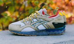 """Boston-based retailer Bodega has teamed up with Japanese athletic company ASICS on a limited edition of the latter's Gel Lyte V silhouette. Dubbed """"Geocached,"""" the collaboration is being released in six cities in special edition…"""