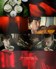 We are alike, you and I. Sherlock and Moriarty.