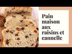 Pain maison aux raisins et cannelle