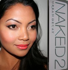 Every day makeup using Naked 2 Urban Decay palette