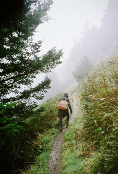 sometimes we must trudge uphill in the rain - Explore the World with Travel Nerd Nici, one Country at a Time. http://TravelNerdNici.com