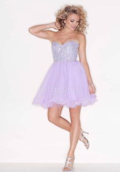 Sweetheart Baby Doll Sleeveless Natural Waist Tulle Dresses For Prom