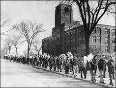 Teamster Nation: 04.05.54 Longest strike in U.S. history begins in WI