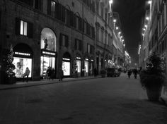 The famous #fashion street of Florence