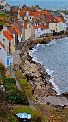 Pittenweem, Scotland.  I want to go see this place one day. Please check out my website thanks. www.photopix.co.nz