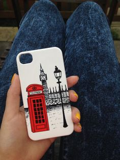 London Calling Clip on Phone Case iPhone 3 3GS 4 4S 5 5S 5C Samsung Galaxy S2 S3 S4 Mini Note 2 Sony Xperia Z Blackberry Z10 Curve Bold HTC