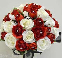Wedding flowers white and red wedding flowers white and red wedding flowers mightylinksfo