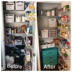 We have a really small pantry in our townhouse and it just wasn't functioning well! But a little organization & decluttering made all the…