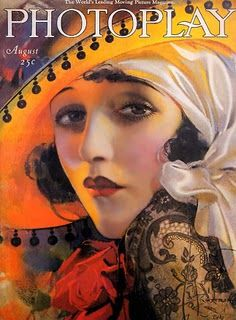 Photoplay Magazine (August) Bebe Daniels by Rolf Armstrong