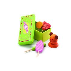 Wooden candy Set - Lollipops