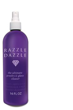 The best jewelry and diamond cleaner ever! Razzle Dazzle really brings out the color of stones and makes they sparkle. They look so alive!