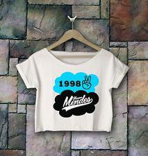 Magcon Boys Crop Top Shawn Mendes 98 Crop Tee Magcon Boys Shirt M1