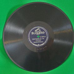 "1938 Bluebird Records 10"" Shellac 78 RPM, Artie Shaw, Play-Rated Near Mint!"