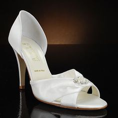 something bleu club white & ivory  Wedding Shoes