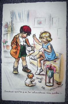 Carte Neuve Pendant Que Tu Y Es,Tu Colmateras Ma Poche!...Germaine Bouret M.S..Paris