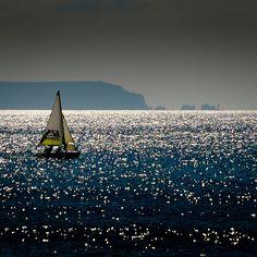 Sailing by Isle of Wight by trekker308, via Flickr