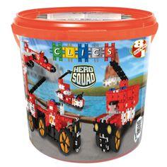 Clics Hero Squad Box - Brandweer Afmeting: verpakking Ø 27 x 26 cm - Clics Hero Squad Box - Brandweer