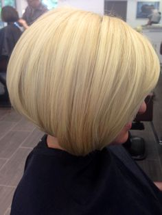 Blonde bob not to fond of the color