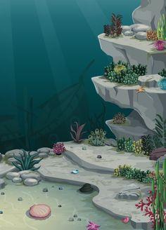 Environments Designs for Games by senem sekban, via Behance