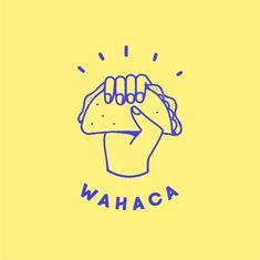 restaurant logo From start-up to chain: rebranding Wahaca Logo Restaurant, Logo Pizzeria, Bar Restaurant Design, Food Logo Design, Logo Food, Identity Design, Food Brand Logos, Logo Desing, Logo Inspiration