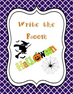Included:16 Halloween cards with pictures and words--Halloween, candy corn, witch, spider, trick or treat, costumes, bat, October, black cat, candy, pumpkin, ghosts, moon, skeleton, cauldron, haunted house1 Write the Room recording sheetsCheck out my store for LOTS of write the rooms!Don't forget to rate me and get your TPT credits!