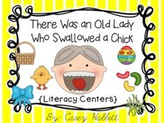 """**Updated 4/14/14**  This is a ZIP file.**Note: Some activities may be enrichment for pre-K and K or can be used as intervention for first grade students.***Note 2: This product is VERY similar and has a lot of the same activities as my other """"There Was an Old Lady..."""" ProductsThe New Version is now 186 pages and still Common Core Aligned:-Vocabulary Cards-Retell Poster (color&black and white versions)-Transitional Word Cards (color and b&w versions)-Emergent Reader {differentiated vi..."""