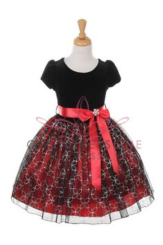Cinderella Couture Big Girls Velvet Glitter Flw Christmas Dress 10 Red 1166 ** Check this awesome product by going to the link at the image. Red Christmas Dress, Girls Christmas Outfits, Christmas Fashion, Holiday Outfits, Holiday Dresses, Red Flower Girl Dresses, Little Girl Dresses, Girls Dresses, Birthday Dresses