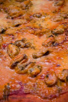 Pizza aux moules et crème de curry | Piratage Culinaire
