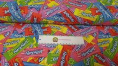 Laffy Taffy, Packing, Yard, My Favorite Things, Retro, Creative, Fabric, Cotton, Bag Packaging