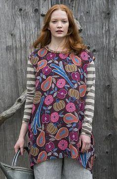 18 Gudrun Sjoden lyocel Folia robe L