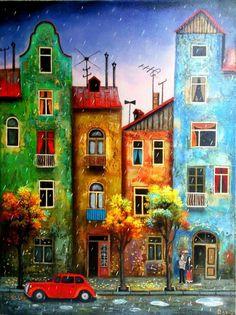 Painter_Ressam_David Martiashvili | Hibiscus