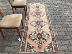 Old size : 250 x 84 (cm) x (Feet) fully restored cleaned and ready to use ! shipping we can ship World - wide we will shipyour order withen days with Sent with TNT and UPS THANK YOU Hall Runner, Rug Runner, Home Living, Runes, Cross Stitch Patterns, Bohemian Rug, Hand Weaving, Restoration, Oriental Rugs