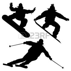 Collection Snowboarders And A Skier Vector photo Giraffe Silhouette, Flower Silhouette, Tree Silhouette, Silhouette Vector, Trans Art, Paint Splash, Mom Tattoos, Vector Photo, African Animals