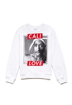 Cali Love Tupac Sweatshirt