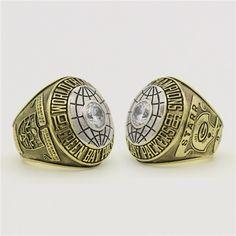 Custom 1966 Super Bowl I Green Bay Packers Championship Ring