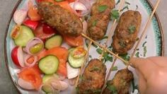 Pikantná kofta Baked Potato, Sausage, Potatoes, Beef, Ethnic Recipes, Indie, Food, Meat, Sausages