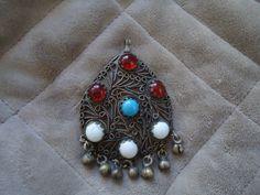 Vintage 1970's Colored Jewels Brooch Good by AMillionStarsVintage, $9.00