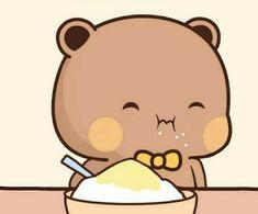 Cute Cartoon Pictures, Cute Profile Pictures, Cute Images, Cute Pictures, Cat Couple, Little Panda, Cute Panda, Kawaii Wallpaper, Cute Chibi
