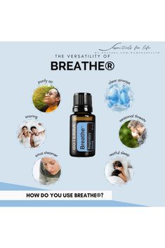Continuing on with the popularity contest, we have Breathe (AKA The Respiratory Blend). This baby will help you maintain feelings of clear airways. This is useful when you are starting to feel congested, when you are experiencing anxious feelings or if you are in a situation with poor air quality. 👉 Pro Tip: Pair Breathe with your Aroma Dawn Humidifier For a perfect night's sleep, drop 3 drops each Breathe and 3 drops of Serenity in your diffuser. Did you know there is also a Breathe Vapor S