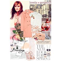 Feminine and girly fashion from Leighton Meester