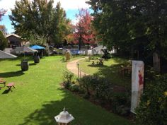 The gorgeous gardens at Heritage House