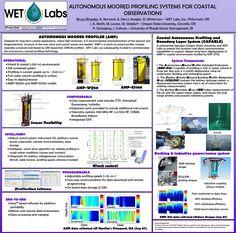 AUTONOMOUS MOORED PROFILING SYSTEMS FOR COASTALOBSERVATIONS Science Posters, University Of Oregon, Rhode Island